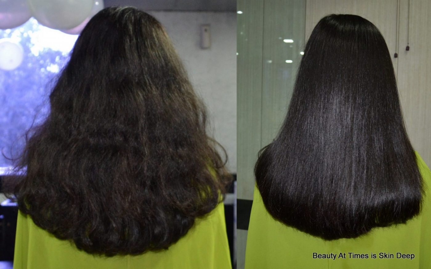 Hair Spa Treatment Before After